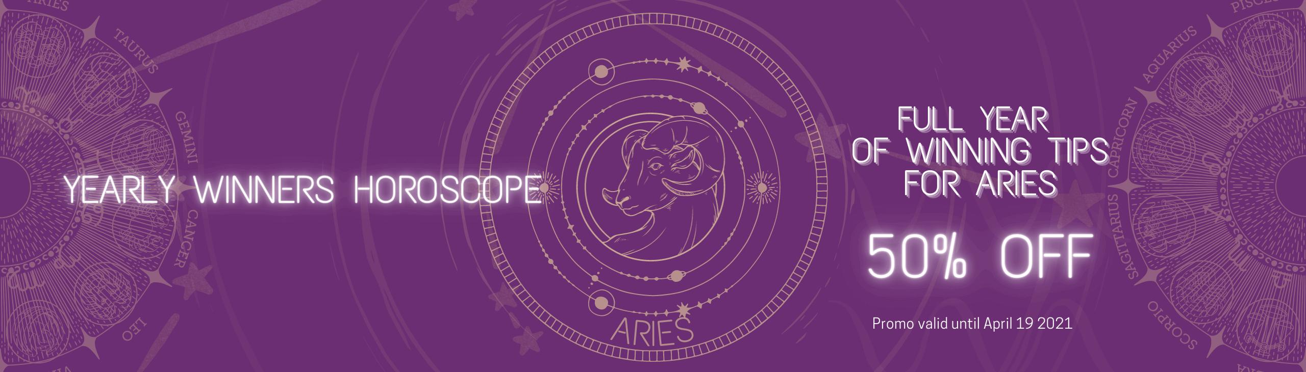 Aries yearly horoscope